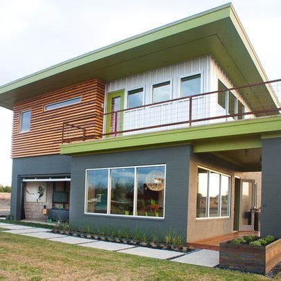 Modern Home Exterior Paint Colors Design Ideas, Pictures