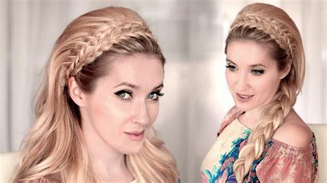 headband hairstyle   braids