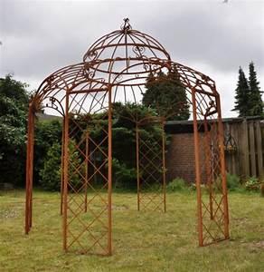 Gartenpavillon Aus Metall : pavillon romantik rost 340cm ~ Michelbontemps.com Haus und Dekorationen