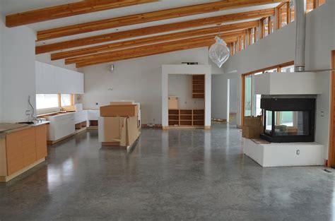 natural polished concrete floor sunroom pinterest