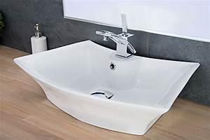 Waschbecken Oval Aufsatz : design keramik waschschale oval aufsatz waschbecken waschtisch waschplatz 221 ~ Orissabook.com Haus und Dekorationen