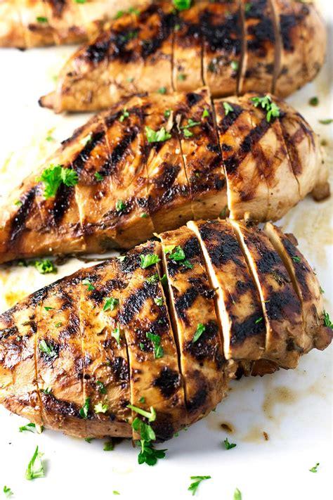 chicken breast marinade best juiciest grilled chicken breast so damn delish