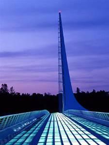 Sundial Bridge Redding California Santiago Calatrava 2004