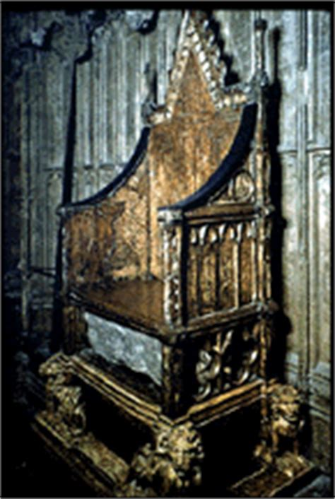 king edwards chair coronation of george iv