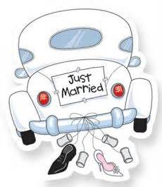 Free Just Married Clipart