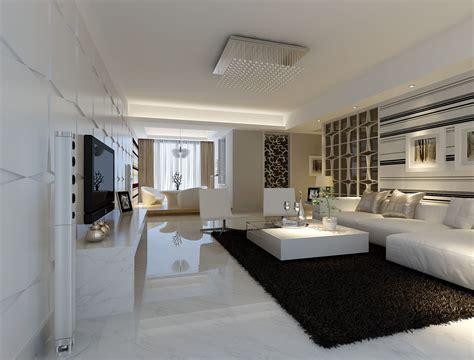 modern white floor l modern white marble flooring for living room with black