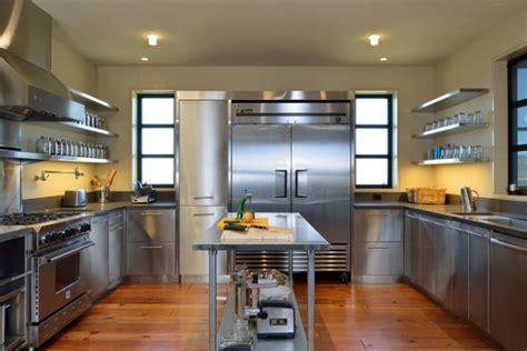 beautiful stainless steel kitchen design ideas