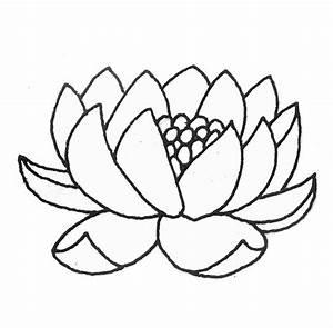 Comment Dessiner Une Fleur De Lotus Facile