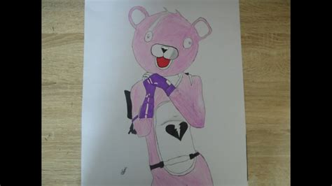 comment dessiner nounours de fortnite lexperte des calins