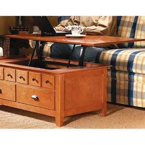 lift up coffee table plans