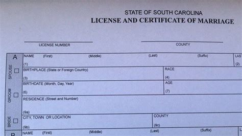 south carolina marriage license form upstate same sex couples apply for marriage after scotus
