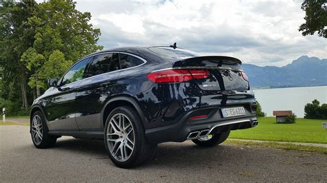 test mercedes benz gle coupe driven  austria