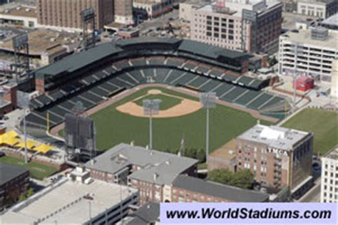 World Stadiums - AutoZone Park Stadium in Memphis