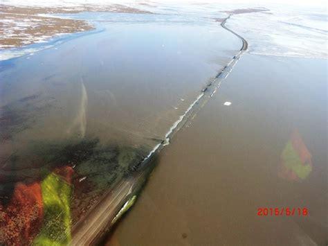 Post-Flooding Gravel Work to Raise Dalton Highway | Alaska ...