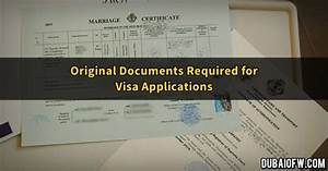 original documents required when applying for visa dubai ofw With documents required for us visa
