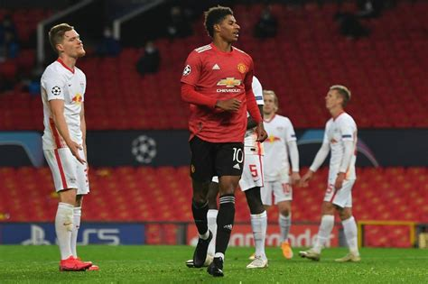 Manchester United's Marcus Rashford Makes Champions League ...