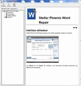 Stellar phoenix word repair restaure vos documents word for Repair documents microsoft word