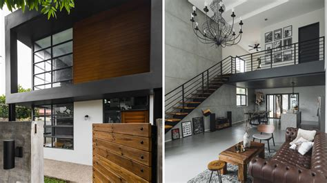 style rules  modern minimalist industrial home