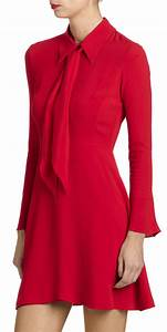 robe en crepe rage rouge by sandro abiti pinterest With robe rouge sandro
