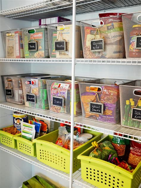 how to organise kitchen storage 20 best pantry organizers hgtv 7293