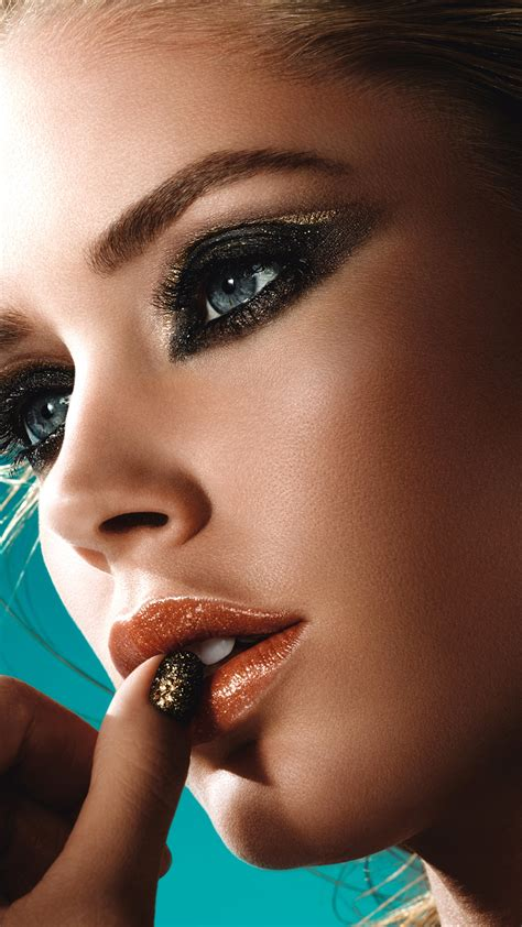 wallpaper doutzen kroes fashion model loreal makeup