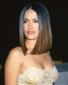 Hair on Pinterest   Salma Hayek Hair, Brown Hair