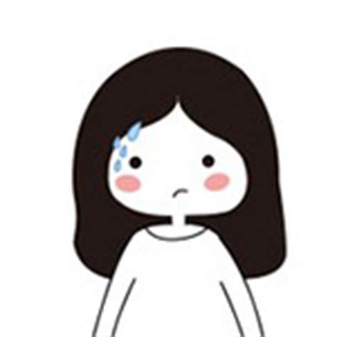 long hair girl emoticons emoji   chinese