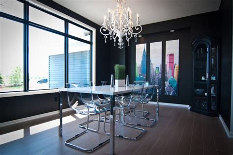 15 Dining Room Designs With Acrylic Dining Chairs
