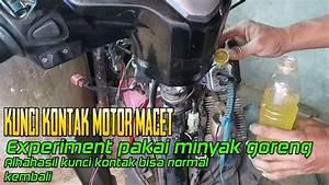 Cara Perbaiki Kunci Kontak Sepeda Motor Macet   Bisa Di