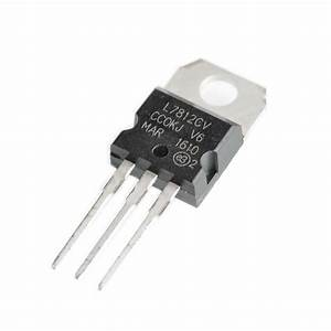 10pcs L7812cv To 220 L7812 Lm7812 7812 Positive Voltage