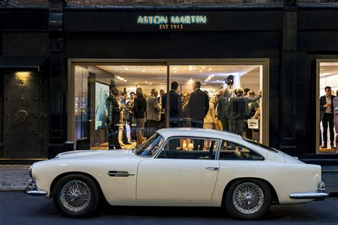 Aston Martin Works Opens Heritage Showroom In Mayfair