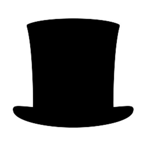 abraham lincoln with hat drawing hat silhouettes