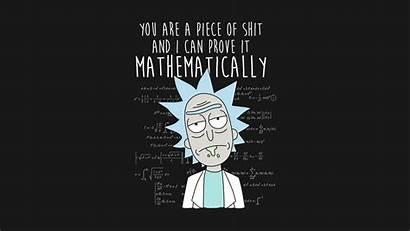 Morty Rick Desktop Wallpapers Math Pc Funny