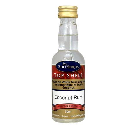 top shelf rum top shelf coconut rum essence
