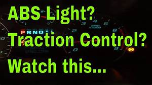 What Causes Abs And Traction Light To Come On