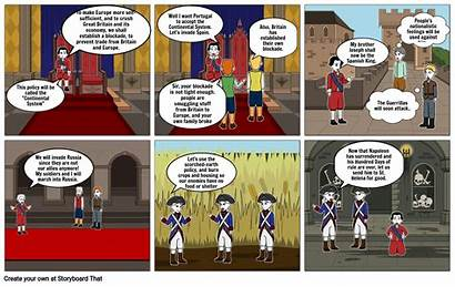 Revolution French Project History Storyboard Slide