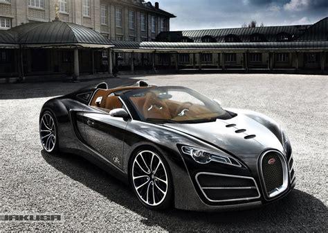 bugatti ettore grand sport concept rendered  veyron