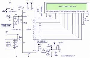 Humidity Sensor Using 8051  Hygrometer
