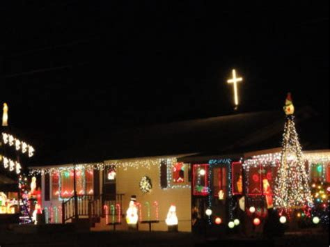 where are the best christmas light displays in bedford