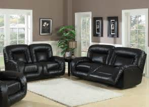 modern living room ideas with black leather sofa room