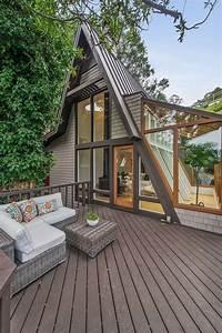 Une Maison  U00e0 L U0026 39 Architecture En Forme De A En Californie