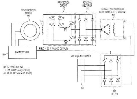 wiring diagram synchronous motor lafert motor wiring