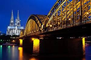 Köln Bilder Kaufen : rhein br cke k ln foto bild architektur architektur bei nacht motive bilder auf fotocommunity ~ Markanthonyermac.com Haus und Dekorationen