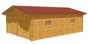 plan pour permis de construire With plan de garage en bois