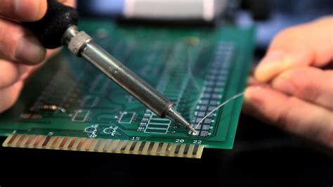 How Solder Surface Mount Components Soldering Youtube