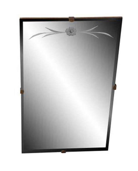 etched glass bathroom mirror olde good