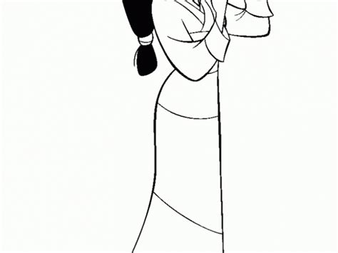 Get This Free Mulan Coloring Pages To Print T29m6