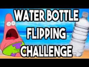 WATER BOTTLE FLIPPING CHALLENGE: Trick Shots   YouTube