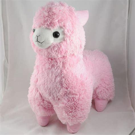 alpaca plush pink a flickr photo sharing