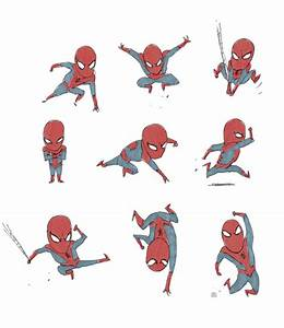 Famous Superheroes Adorably Illustrated To Their Cute Mini ...